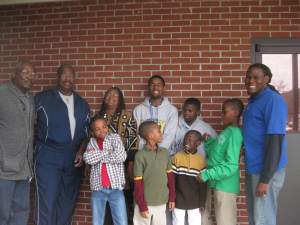 Young Lions Club at World AIDS Day in Pratville, AL